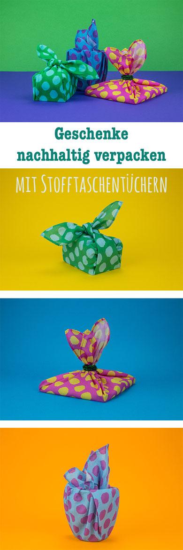 Stoff statt Papier: Geschenke nachhaltig einpacken