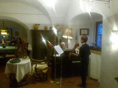 Johannes Wilhelm spielt