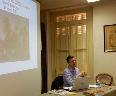 Hervé Bennezon, docteur en histoire et docteur d'honneur de l'Université Paris-13