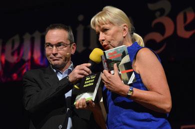 """... und """"unserer"""" Verlegerin Angelika Schulz-Parthu"""