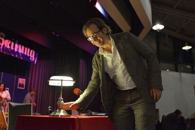 Der Letzte macht das Licht aus! Alle Photos: Matthias Langer