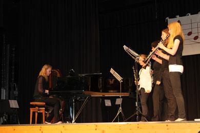 Klezmerensemble Kandel im Konzert