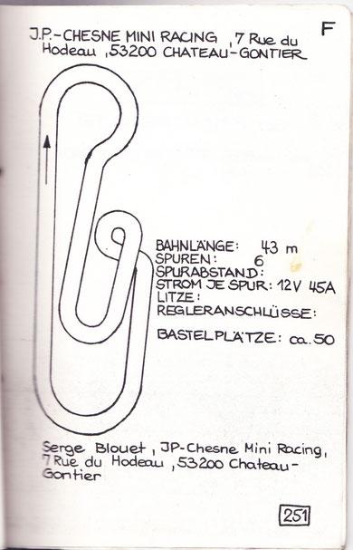 Piste Jean-Pierre Chesne 1973