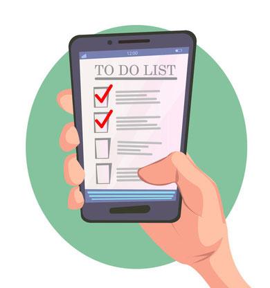 To-Do(やること)リストを作成して月曜に慌てないようにしよう