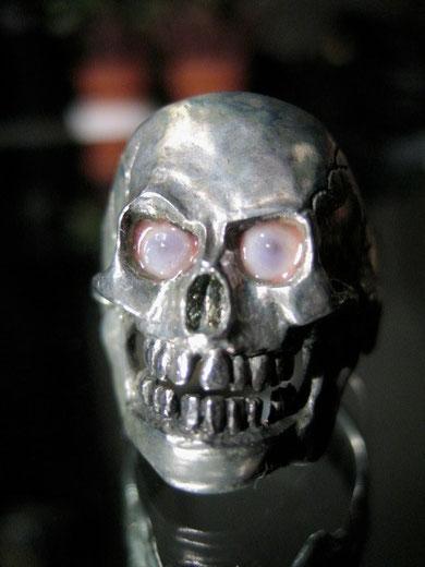 David Bergmann Augen Ring Fingerring Steel Inox Edelstahl