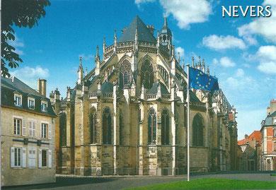 le chevet de la cathédrale