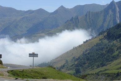 descente sur Argeles Gazost, puis route en bordure du gave de Pau jusqu'à Lourdes.