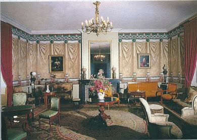 """le salon décrit par Balzac dans ses lettres à Mme Hanska sous le nom de salon de la """"Tapisserie au Lion"""""""