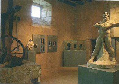 """Les anciennes cuisines du château abritent une expo consacrée à la """"fabrication"""" de la statue de Balzac par Rodin"""
