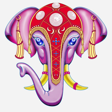 "Illustration ""ELEPHANT"""