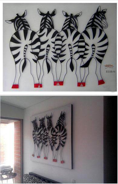 Esculturas p gina jimdo de oxidostorrado - Cuadros de cebras ...