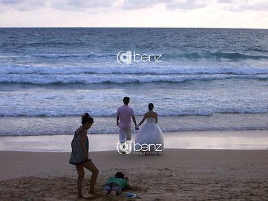 Hochzeit Promi Beachshooting