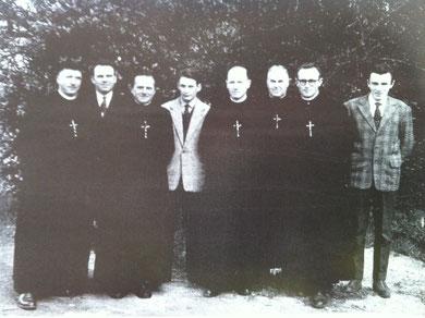 L'équipe des professeurs en 1960-1961