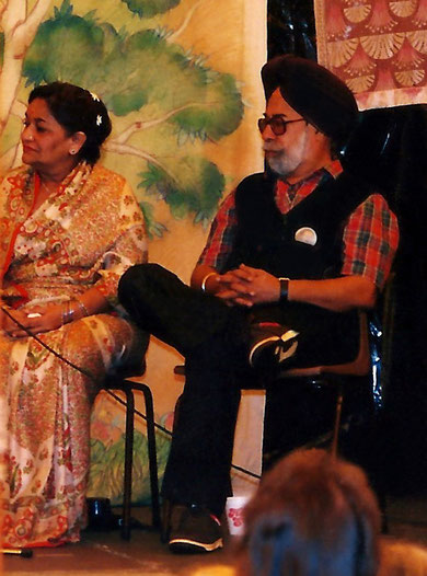 Mokham & Kusum at the 1988 Avatar's Abode Anniversary