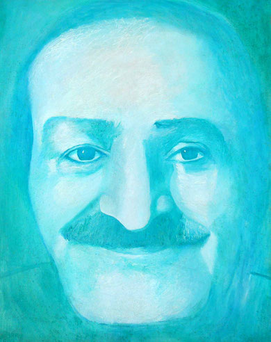 "54. ""Meher Baba "" : Courtesy of David and Gusi Bowling"