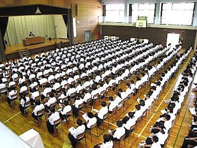 福島市蓬萊中学校教育講演会