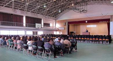 田村市立常葉中学校教育講演会