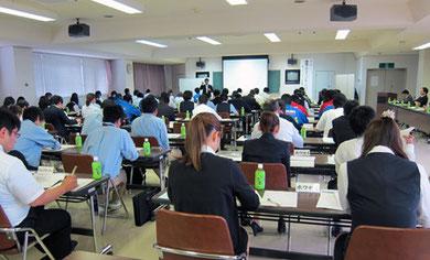 福島県自動車販売協会「新人研修会」