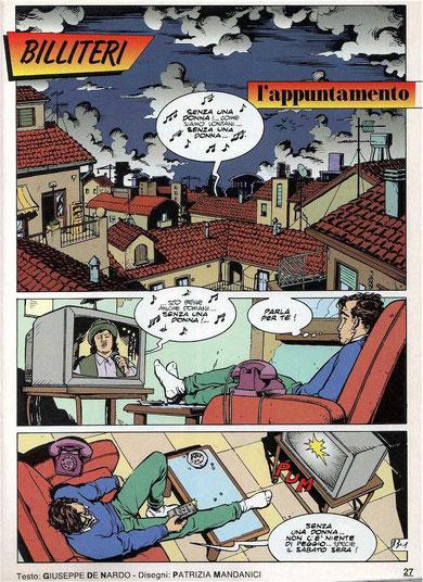 "Tavola da ""Billiteri"" - ""L'Intrepido"" 1993"