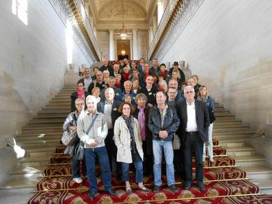 Le groupe au Sénat
