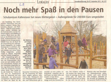 26./27.11.2011 LZ - Freigabe Außengelände
