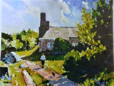 Edwin V. Forrest RCA, A Cornish Spring, Minack