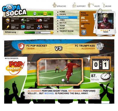 Finales Design: CopaSocca