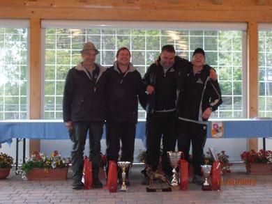 C.R Trentino Alto Adige in ipo3 : 1° Josef Pircher con Fanto con der Vill, 2° Kurt Zischg con Jacky, 3°Joachin Schwarz con Ilk v. Hause Mithras
