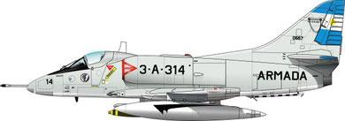 Mc Donnell Douglas A-4Q Skyhawk