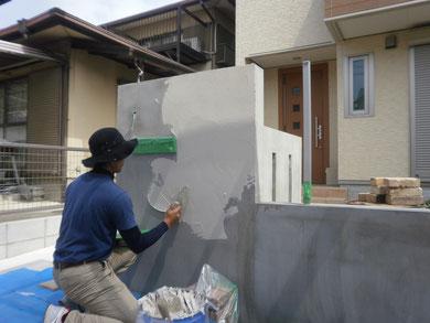 次に下塗りをしていきます。