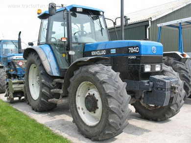 Hier ein Ford-New Holland 7840