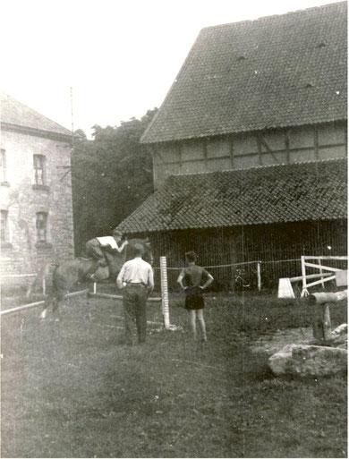 Reitplatz in Brunshausen im Klosterhof