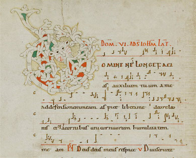 Scola Metensis-Graduel de Sainte-Cécile du Trastévère, vers 1071