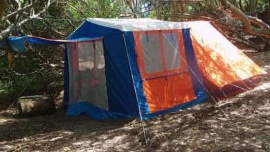 Foto tomada en Camping de Villa Gesell.