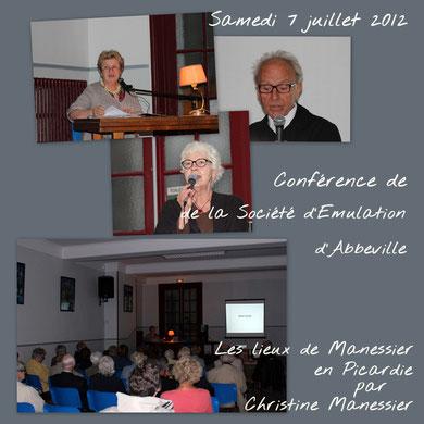 """Conférence de Christine Manessier : """"Les lieux de Manessier en Picardie"""""""