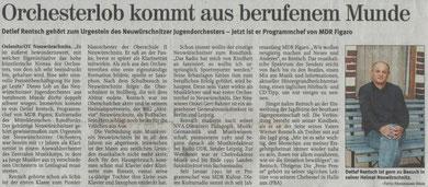 Freie Presse vom 21.07.04