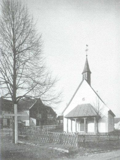 Die Kapelle im Jahr 1980