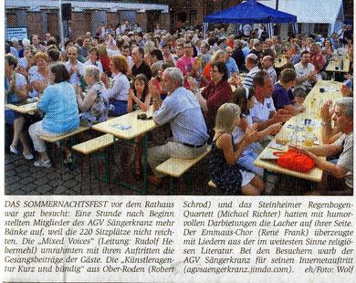 04.07.2009 - Sommernachtsfest
