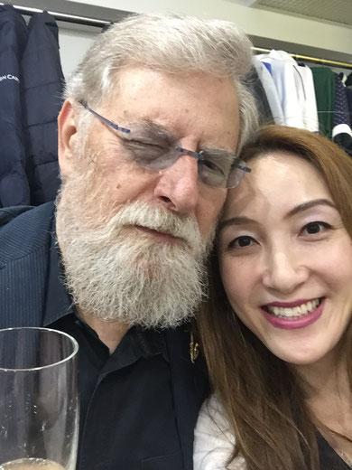 ルー・タバキン氏とKOKORO