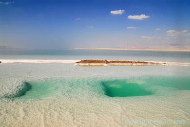 Am toten Meer Israel