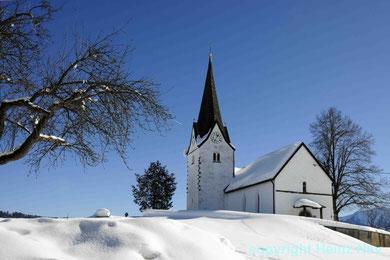 Kirche in Genhofen Allgäu