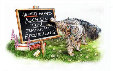 Zeichnung aus dem Buch Wir und Ihr von Cornelia Wiedemann und Andrea Töpel