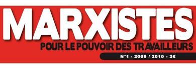 Marxistes Unitaires publie sa nouvelle revue : Marxistes