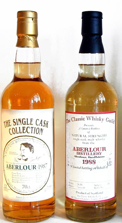The Single Cask Collection 1987 / The Classic Whisky Guid 1988