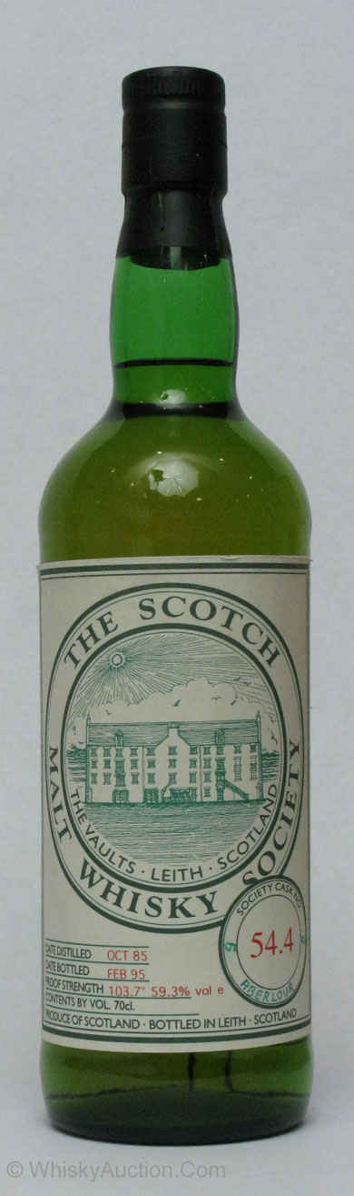 The Scotch Malt Whisky Society 1985