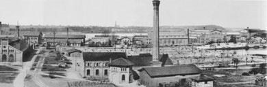 Kiel: Kaiserliche Werft (1893), (Foto: Wilhelm Dreesen)