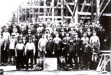 Schiffbauer 1898 (Foto: Kieler Stadtarchiv)