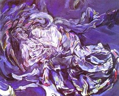 OSKAR KOKPOSCHKA - La sposa del vento (1914)