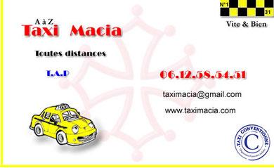 AàZ Taxi MACIA