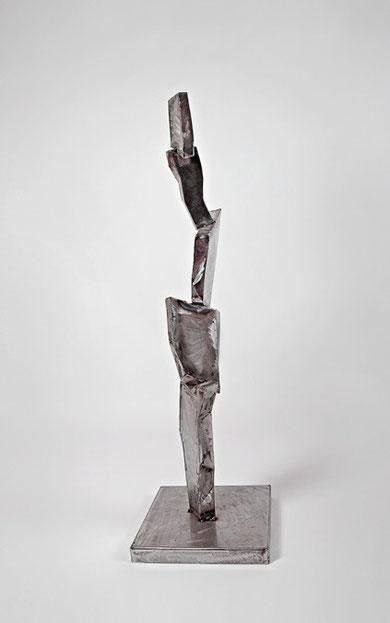 Kaktusmann, 35 x 35 x 125 cm, Eisen, 2009